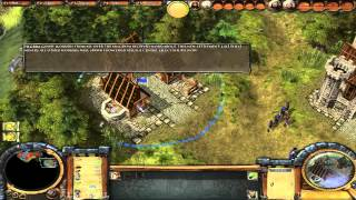 Settlers 5 gameplay part 1