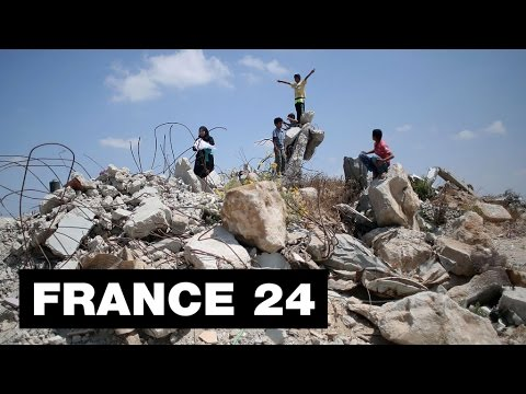 GAZA WAR ONE YEAR LATER - No reconstruction, no hope? FRANCE24 asks Ali Abunimah