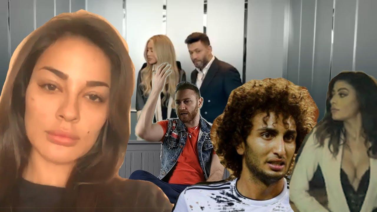 الصقر : لأول مرة نادين نجيم من دون ماكياج , فضيحة عمرو وردة و ميرهان , ميريام فارس ثقيلة