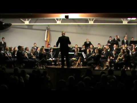 La Union Musical de Agost interpretando Yosemite Autumn de Mark  Camphouse