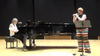 Exequiel Mantega: Milonga Camarga (Christie Beard, piccolo & Stacie Haneline, piano)