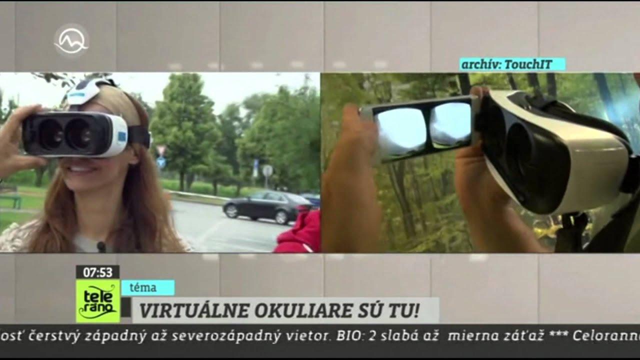 07341414c Teleráno: Samsung Gear VR Part 2 - YouTube