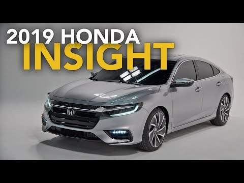 2019 Honda Insight Hybrid First Look - 2018 Detroit Auto Show
