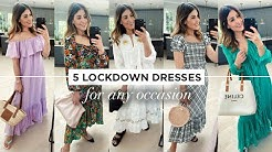 STYLING 5 EASY DRESSES FOR LOCKDOWN | WE ARE TWINSET