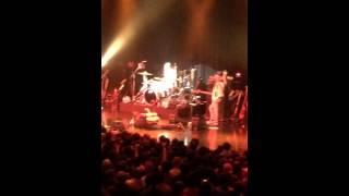Brooks Wackerman from Tenacious D's Drum Solo.  Tokyo, 4-NOV-2014