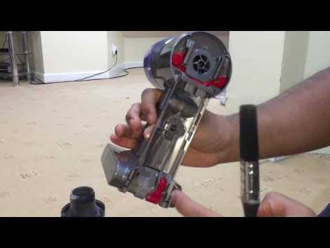 How To Clean/Open The Dyson V8 Animal