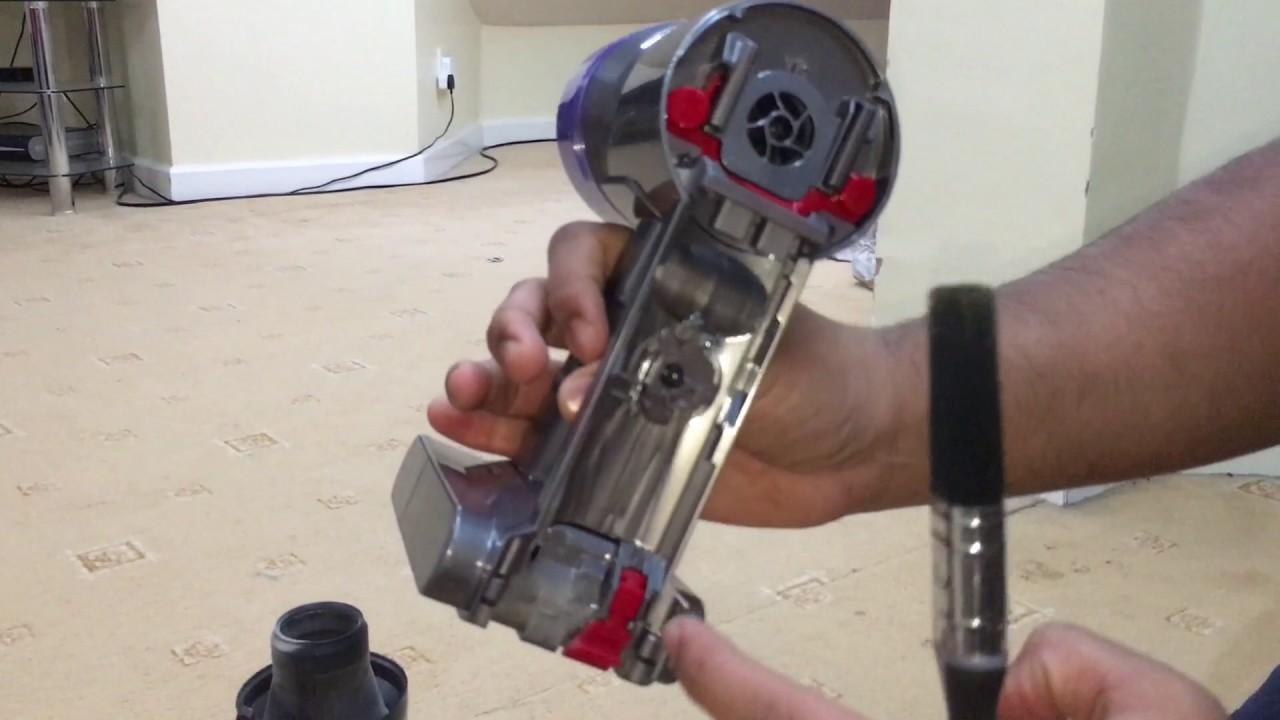Dyson как разобрать видео пылесос портативный dyson dc45