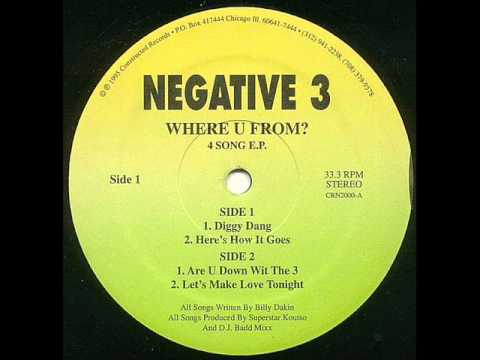 Negative 3 - Here's How It Goes