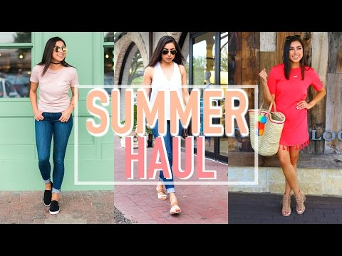Huge Summer Try-On Haul! Target, Zara, Nordstrom, & BooHoo!
