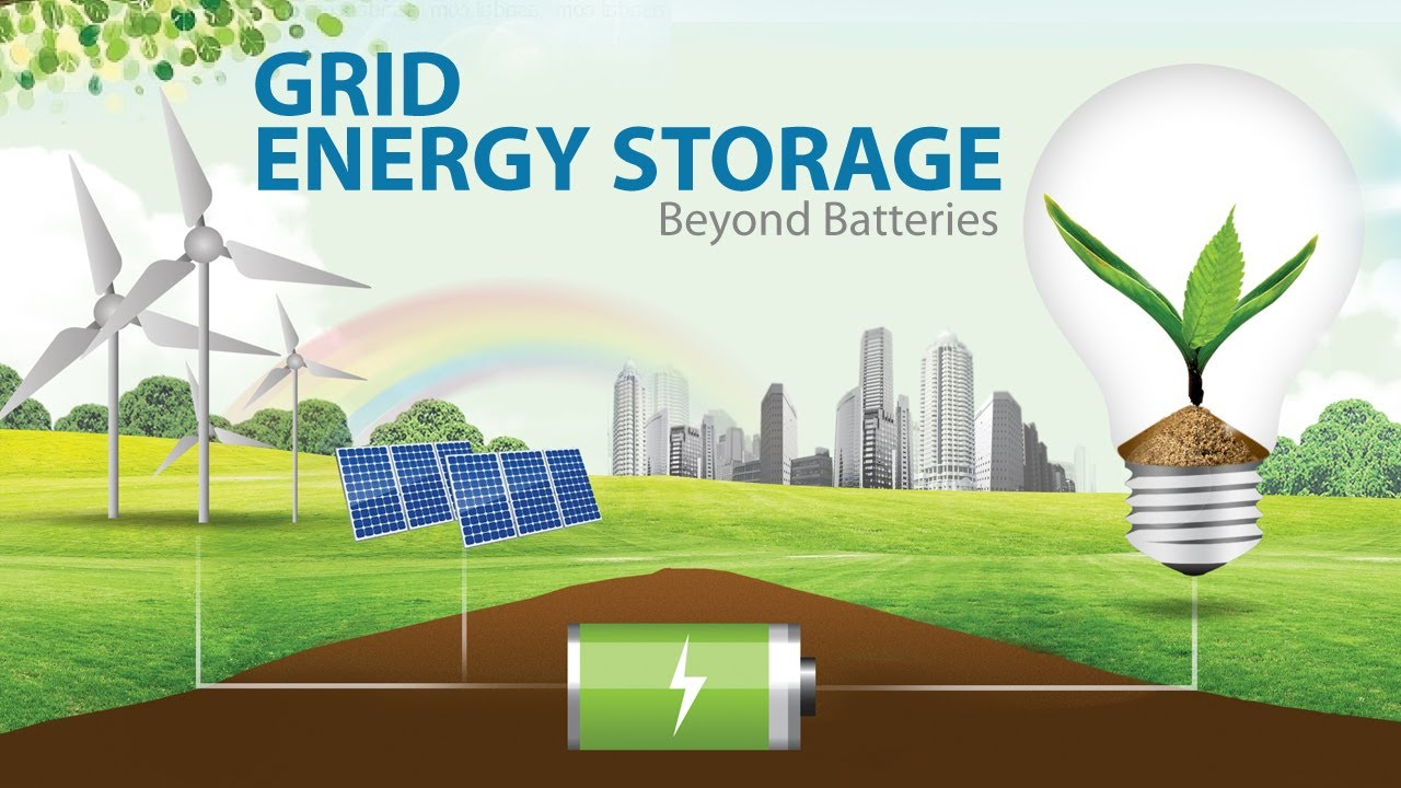 Grid Energy Storage: Beyond Batteries - YouTube