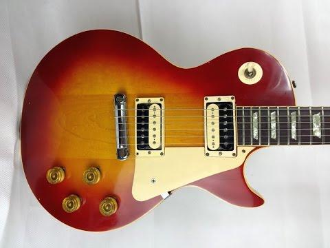 Plaintop Burst 1971 Gibson Les Paul Standard ´58 with wraparound bridge (Tom Holmes PU60 Pickups)