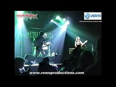 Mortification Full Live Concert - Santiago Chile 7th August 2001 PART 2