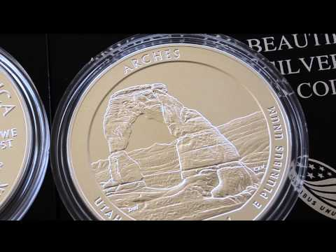 Arches National Park - America The Beautiful 5 oz (P)