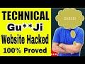 Technical Gu**Ji Website Hacked with Proof ( Buy Product in 1 ₹ ) |  Technical Gu**ji Exposed