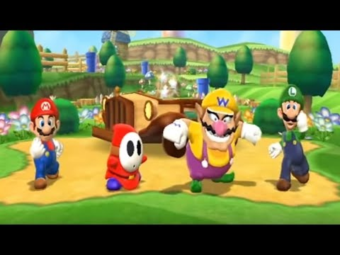Mario Party 9 Solo Part 1 (Toad Road)