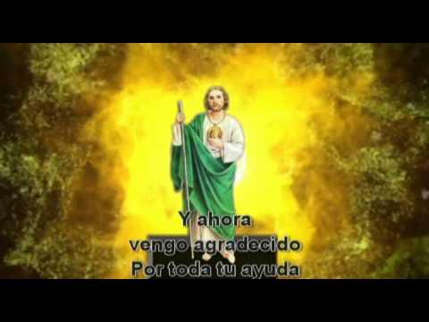 Gracias Mi San Judas Tadeo Youtube