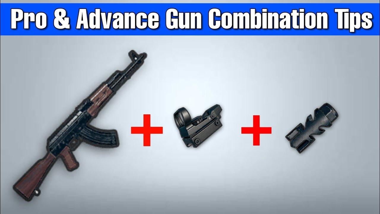 Pubg Guns: PUBG MOBILE : Pubg Best Gun Combination, Pubg Guns Guide