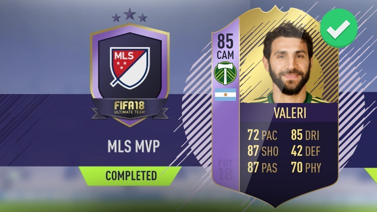 fifa 18 dce mvp mls diego valeri moins cher possible youtube. Black Bedroom Furniture Sets. Home Design Ideas
