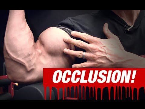 Occlusion Training for Biceps (SEE WHAT...
