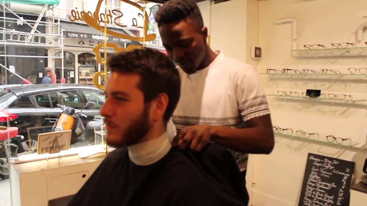 Shaperie A Barbershop In Chtelet Paris Youtube