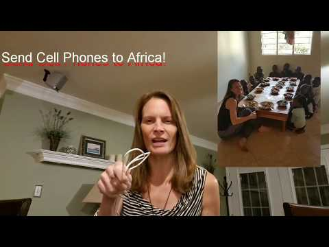 Town Tip Thursday, A WHAT MATTERS Initiative-Cell Phones for Africa