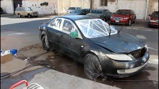 #3كيف ترش سيارتك مطفي بالبيت و بنفسك !!! واخيرا خلصنا الرش !! لايفوتك الشكل :)
