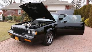SOLD - AMAZING 7,576 Mile 1987 Buick Grand National Time Capsule~All Original~LIKE NEW!
