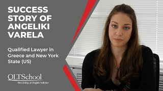 Success Story of Angeliki Varela - QLTS School's Former Candidate