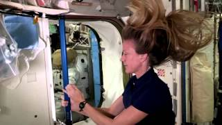 Astronaut Uses One Strand of Hair to Move in Zero Gravity