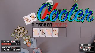 Poker Time: Big Time COOLER during 1 1/2 hour session