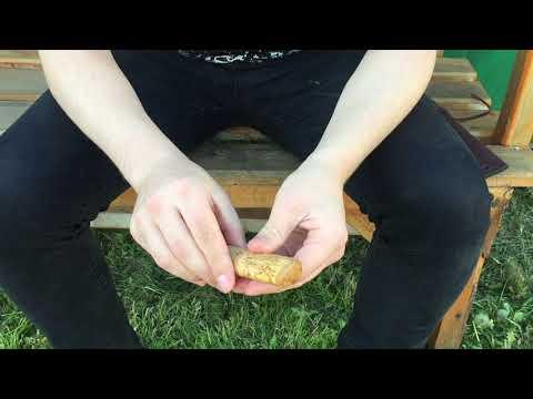 Якутский нож малый из кованой даммаской стали, рукоять из карельской березы