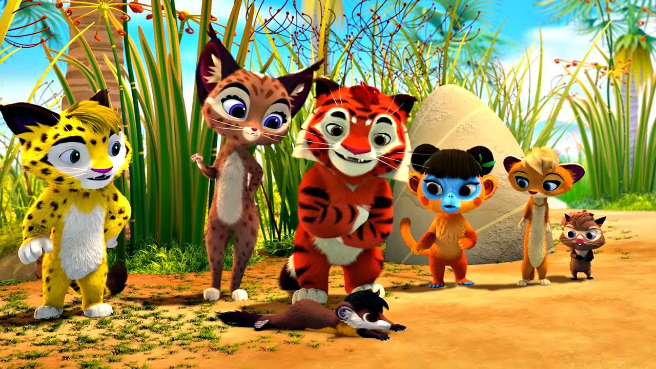 🐾 Лео и Тиг 🐾 Сборник улетных серий  Детям про животных 🐱| Мультфильм HD