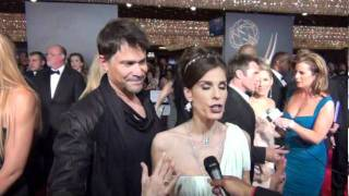 on the red carpet peter reckell and kristian alfonso