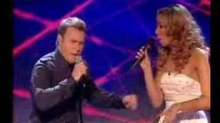 "Leona performs ""A Million Love Songs"" during the X-Factor 2006 fina..."