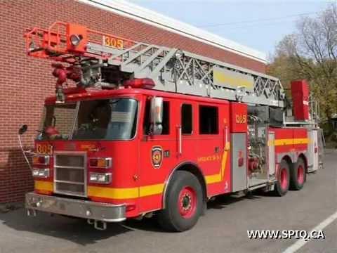 Quebec city fire trucks camions de pompier de qu bec - Camion de pompier a dessiner ...