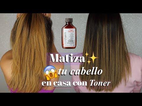 TONER PARA ELIMINAR CABELLO NARANJA · MATIZA EL CABELLO EN CASA · WELLA T18