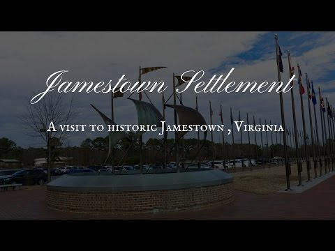 Jamestown Settlement near Willamsburg, Virginia - American History Tour