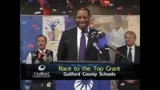 Race to the Top Grant Announcement.  Page High Campus Watch Program.