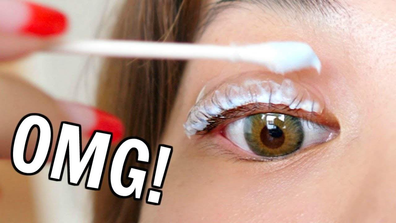 A Beauty Blogger Permed Her Eyelashes At Home Insider