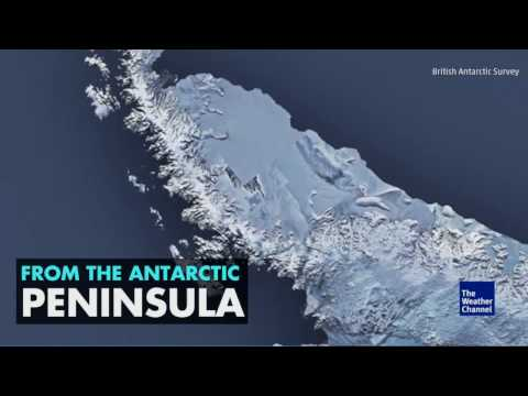 """URGENT EARTHQUAKE & VOLCANO FORECAST""& HUGE 100+ MILE CRACK IN ANTARCTIC KEEPS GROWING!!!"