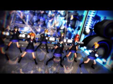 【MMD】μ's9人全員で『威風堂々』【ラブライブ!】
