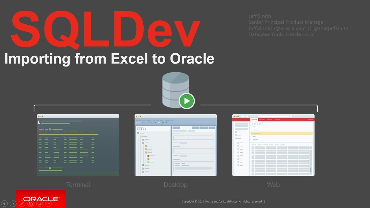 How to Import from Excel to Oracle with SQL Developer – ThatJeffSmith