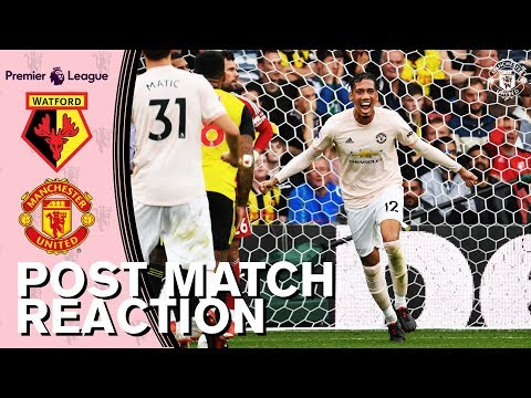 Smalling, De Gea & Carrick Look Back on Watford Win | Watford 1-2 Manchester United | Reaction