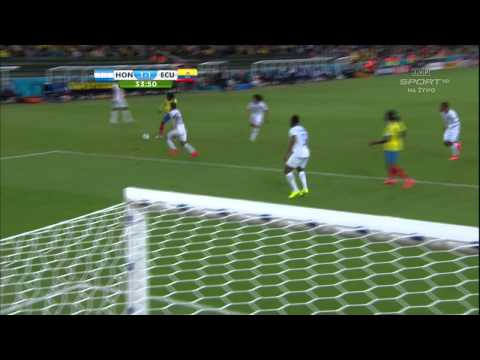 World Cup 2014 Group E Honduras vs Ecuador 2014 All Goals/Honduras - Ekwador