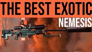 The Division 2 Best Exotic Weapon: Nemesis Sniper Review / How to Get It