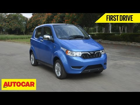 Mahindra e2o Plus | First Drive | Autocar India