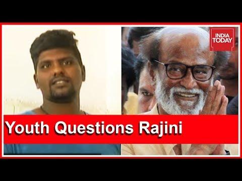Rajinikanth Embarrassed After Tuticorin Victim Questions Him