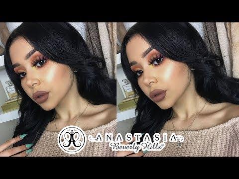 One Brand Makeup Tutorial: Anastasia Beverly Hills - ABH   Daisy Marquez