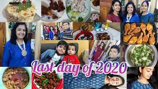 last day of 2020mom n dad dancemid nite celebrationsmutton biriyaniparty moodmax shopping