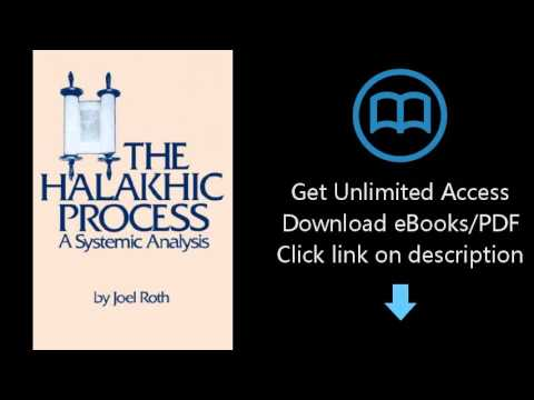 Download The Halakhic Process: A Systematic Analysis (Moreshet) PDF